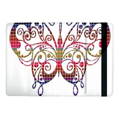 Butterfly Nature Abstract Beautiful Samsung Galaxy Tab Pro 10 1  Flip Case