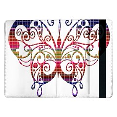 Butterfly Nature Abstract Beautiful Samsung Galaxy Tab Pro 12 2  Flip Case