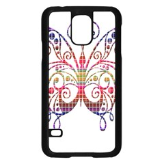 Butterfly Nature Abstract Beautiful Samsung Galaxy S5 Case (black)