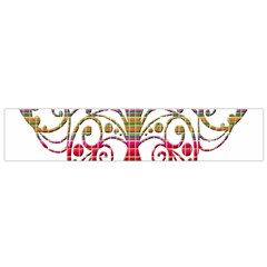 Butterfly Nature Abstract Beautiful Flano Scarf (Small)