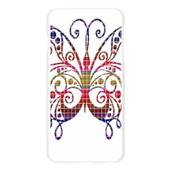 Butterfly Nature Abstract Beautiful Apple Seamless iPhone 6 Plus/6S Plus Case (Transparent)