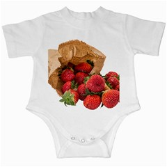 Strawberries Fruit Food Delicious Infant Creepers