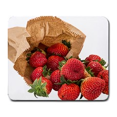Strawberries Fruit Food Delicious Large Mousepads