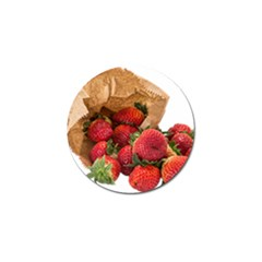 Strawberries Fruit Food Delicious Golf Ball Marker (4 Pack)