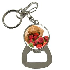 Strawberries Fruit Food Delicious Button Necklaces