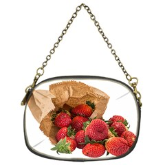 Strawberries Fruit Food Delicious Chain Purses (One Side)