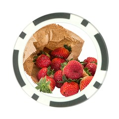 Strawberries Fruit Food Delicious Poker Chip Card Guard (10 pack)