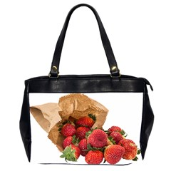Strawberries Fruit Food Delicious Office Handbags (2 Sides)