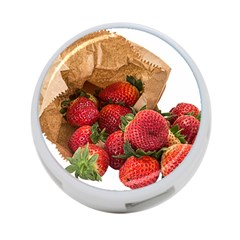 Strawberries Fruit Food Delicious 4 Port Usb Hub (two Sides)