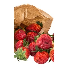 Strawberries Fruit Food Delicious Shower Curtain 48  x 72  (Small)