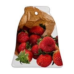 Strawberries Fruit Food Delicious Ornament (Bell)