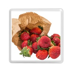 Strawberries Fruit Food Delicious Memory Card Reader (Square)