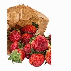 Strawberries Fruit Food Delicious Small Garden Flag (two Sides)