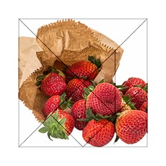 Strawberries Fruit Food Delicious Acrylic Tangram Puzzle (6  x 6 )