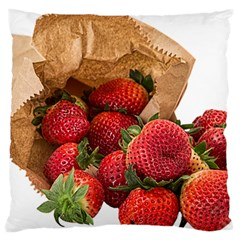 Strawberries Fruit Food Delicious Large Cushion Case (One Side)