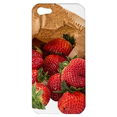 Strawberries Fruit Food Delicious Apple iPhone 5 Hardshell Case