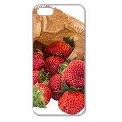 Strawberries Fruit Food Delicious Apple Seamless iPhone 5 Case (Clear)