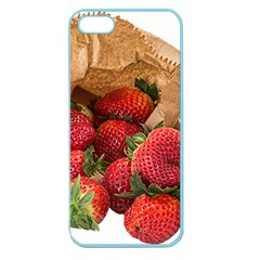 Strawberries Fruit Food Delicious Apple Seamless iPhone 5 Case (Color)