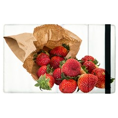 Strawberries Fruit Food Delicious Apple Ipad 2 Flip Case