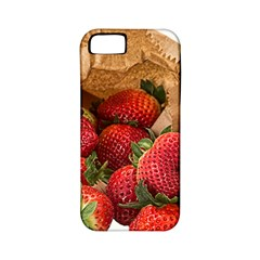 Strawberries Fruit Food Delicious Apple Iphone 5 Classic Hardshell Case (pc+silicone)