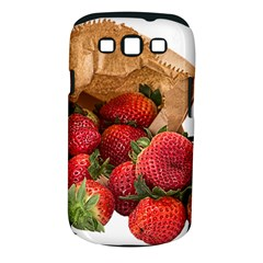 Strawberries Fruit Food Delicious Samsung Galaxy S Iii Classic Hardshell Case (pc+silicone)