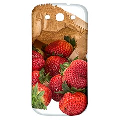 Strawberries Fruit Food Delicious Samsung Galaxy S3 S Iii Classic Hardshell Back Case