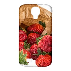Strawberries Fruit Food Delicious Samsung Galaxy S4 Classic Hardshell Case (pc+silicone)