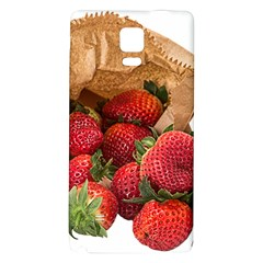 Strawberries Fruit Food Delicious Galaxy Note 4 Back Case