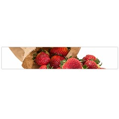 Strawberries Fruit Food Delicious Flano Scarf (large)