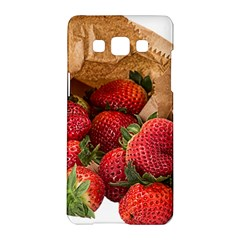 Strawberries Fruit Food Delicious Samsung Galaxy A5 Hardshell Case