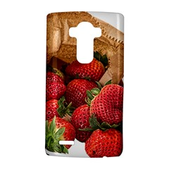 Strawberries Fruit Food Delicious LG G4 Hardshell Case