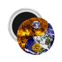 Design Yin Yang Balance Sun Earth 2.25  Magnets