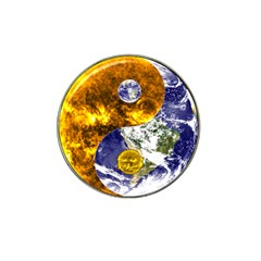 Design Yin Yang Balance Sun Earth Hat Clip Ball Marker (10 Pack)