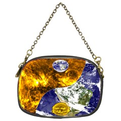 Design Yin Yang Balance Sun Earth Chain Purses (Two Sides)