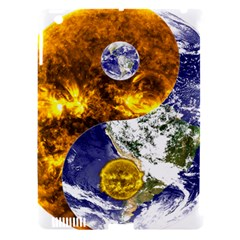 Design Yin Yang Balance Sun Earth Apple Ipad 3/4 Hardshell Case (compatible With Smart Cover)
