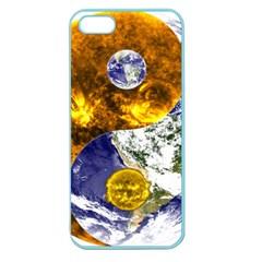 Design Yin Yang Balance Sun Earth Apple Seamless Iphone 5 Case (color)