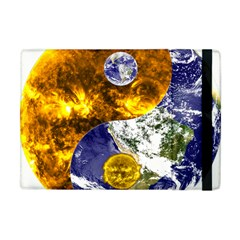 Design Yin Yang Balance Sun Earth Apple Ipad Mini Flip Case