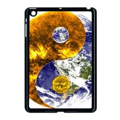 Design Yin Yang Balance Sun Earth Apple Ipad Mini Case (black)