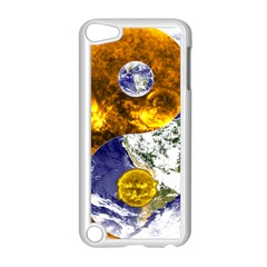 Design Yin Yang Balance Sun Earth Apple Ipod Touch 5 Case (white)
