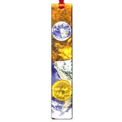 Design Yin Yang Balance Sun Earth Large Book Marks