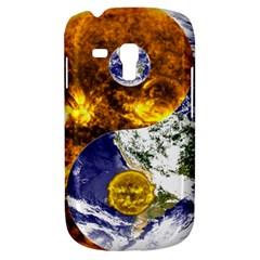 Design Yin Yang Balance Sun Earth Galaxy S3 Mini