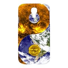 Design Yin Yang Balance Sun Earth Samsung Galaxy S4 I9500/i9505 Hardshell Case