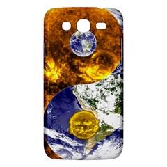 Design Yin Yang Balance Sun Earth Samsung Galaxy Mega 5 8 I9152 Hardshell Case