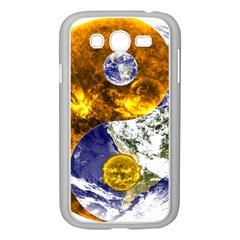 Design Yin Yang Balance Sun Earth Samsung Galaxy Grand Duos I9082 Case (white)