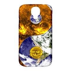 Design Yin Yang Balance Sun Earth Samsung Galaxy S4 Classic Hardshell Case (pc+silicone)