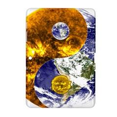 Design Yin Yang Balance Sun Earth Samsung Galaxy Tab 2 (10 1 ) P5100 Hardshell Case