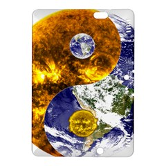 Design Yin Yang Balance Sun Earth Kindle Fire Hdx 8 9  Hardshell Case