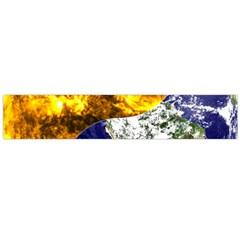 Design Yin Yang Balance Sun Earth Flano Scarf (large)