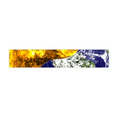 Design Yin Yang Balance Sun Earth Flano Scarf (mini)
