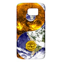 Design Yin Yang Balance Sun Earth Galaxy S6